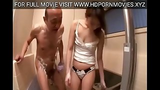 Beautiful Japanese wife forced by dad in law
