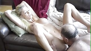 Old Guy From Craigslist Gets Cock Sucked and Fucks