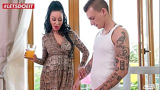 Step Son gets in Bed with Mom After Being Seduced