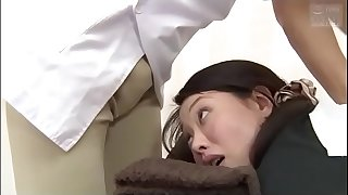 Japanese slut wife goes for a relaxing massage (Full: bit.ly/2AwazEk)