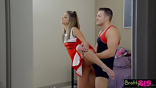 Bratty Sis - BFF Catches StepBro Creaming His Sisters Pussy! S6:E8