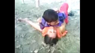 Wifey fucked by spouse in jungle public